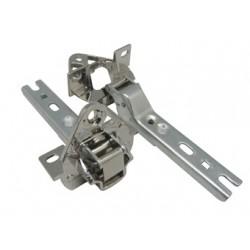 Conjunto bisagras puerta frigorifico Bosch, Siemens, Brandt Thomson, juego de 2 unidades 268698