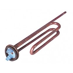 Resistencia termo Ariston, Indesit 2500W, 245mm, vaina 575mm 38AR0104