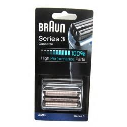 Lámina y cuchilla Braun 32S -  serie 3 81296667