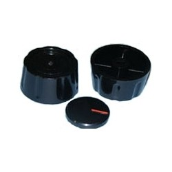 Mando universal cc s/e 8mm negro 73AB0030
