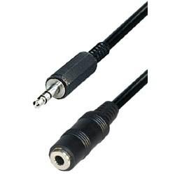 Cable jack m 3,5ST - jack h 3,5ST 2,5m A54