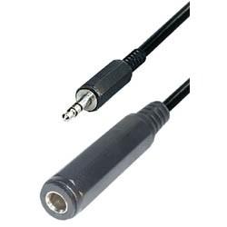 Cable jack m 3,5ST - jack h 6,3ST 0,2m A67