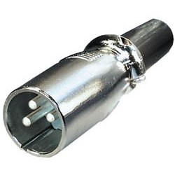 Conector macho cannon E-S23