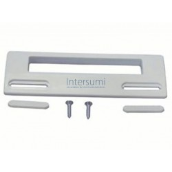 Tirador puerta frigorífico standard blanco, 18,8 x 6,5 cm.  35FR135