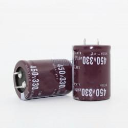 Condensador electrolitico de 100MF-450V 105º 25X30 CERL-100MF-450V