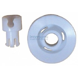 RUEDA CESTO INFERIOR LAVAVAJILLAS ARISTON INDESIT 104637, 380C, 454, 3300 C00104637