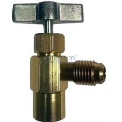 LLAVE PARA BOMBONA DE GAS 25FR0471, FREEZE+22 (R22, R404, R407 25FR0204