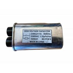 CONDENSADOR MICROONDAS 1,10MF 2100VAC RM-CP616