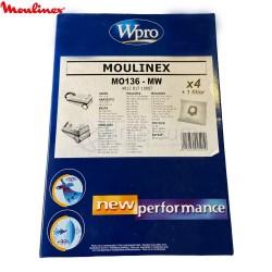 Bolsa aspirador Moulinex Clean MO136-MW
