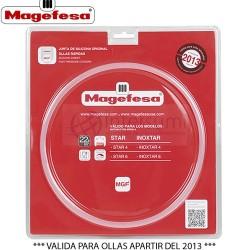 JUNTA SILICONA OLLA MAGEFESA 22CM RAPIDA STAR 4-6 L. 44MGF6006