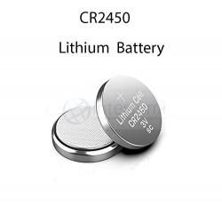 Pila botón de litio, formato CR2450